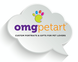 OMG Pet Art logo